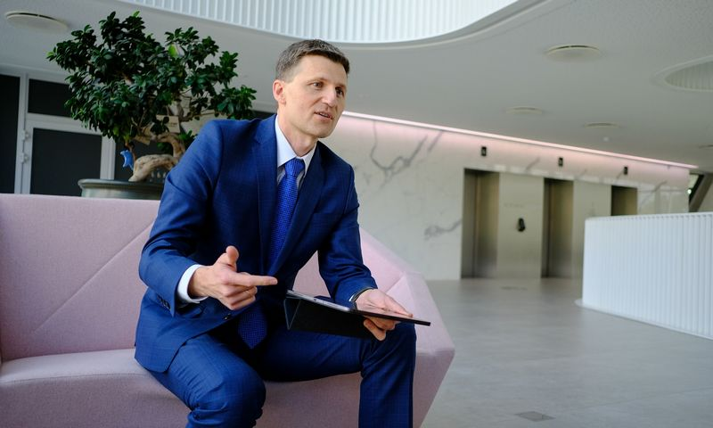 """Vaidas Žagūnis, """"Citadele"""" banko valdybos narys. Vladimiro Ivanovo (VŽ) nuotr."""