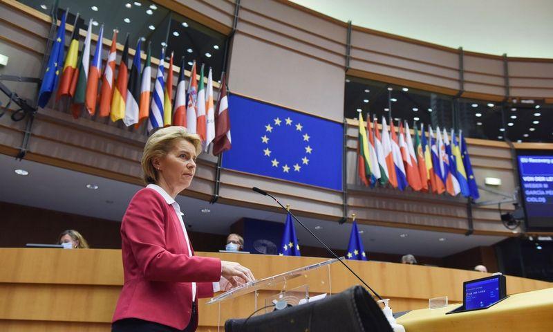 """Ursula von der Leyen, EK pirmininkė. """"Scanpix"""" nuotr."""
