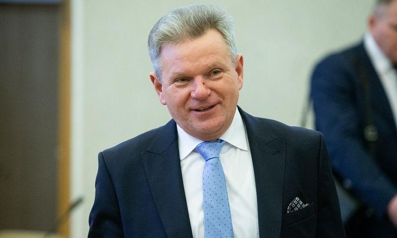 Jaroslavas Narkevičius, susisiekimo ministras. Vladimiro Ivanovo (VŽ) nuotr.