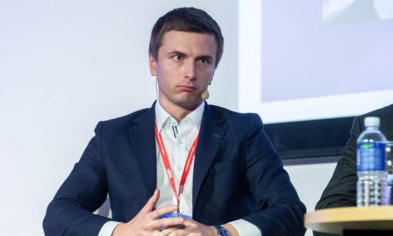 """Žymantas Baušys, UAB """"ACC Distribution"""" direktorius. Juditos Grigelytės (VŽ) nuotr."""