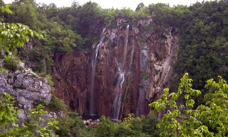 Plitvicos nacionalinis parkas Kroatijoje. H.Milaševičiaus nuotr.