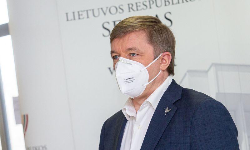 Ramūnas Karbauskis, Seimo narys. Juditos Grigelytės (VŽ) nuotr.