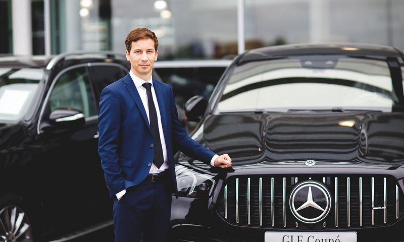 """""""Veho"""" grupė praneša, kad """"Mercedes-Benz"""" atstovybės vadovu Lietuvoje tapo D. Stanionis. Įmonės nuotr."""