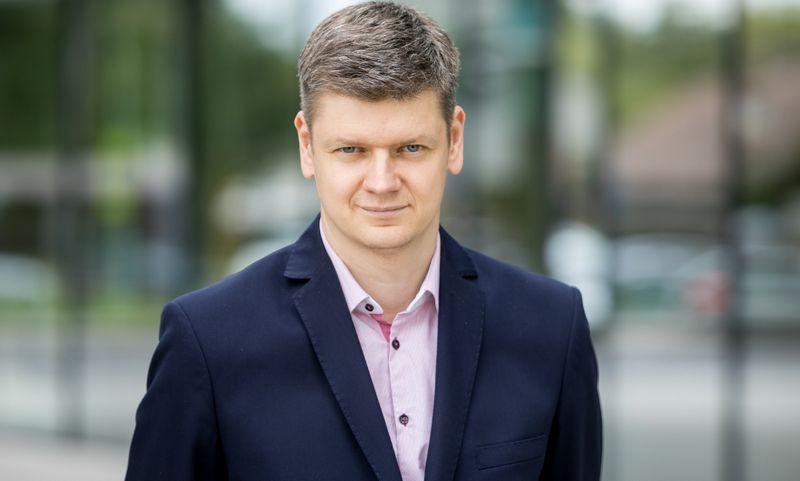"""UAB """"Penki kontinentai"""" įmonių grupės komunikacijos vadovu šiandien pradeda dirbti Aleksandras Zubriakovas. Bendrovės nuotr."""