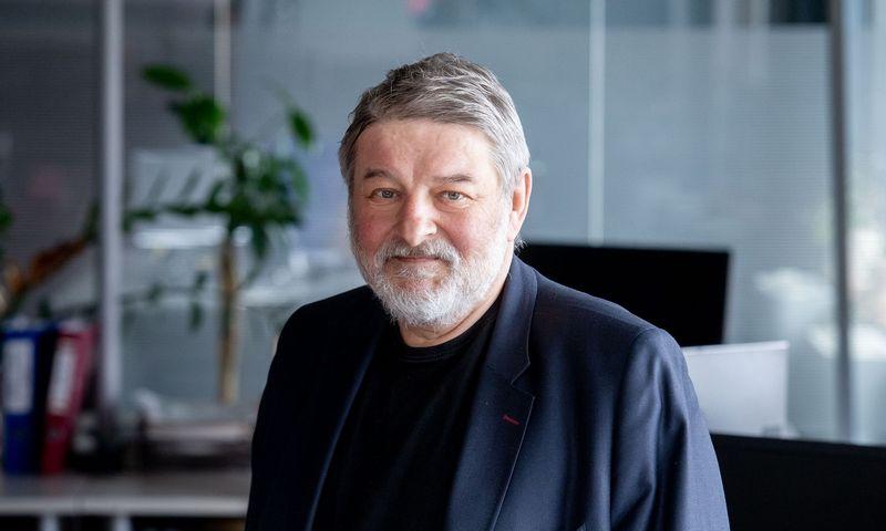 "Aurelijus Katkevičius, ""Verslo klasės"" redaktorius. Juditos Grigelytės (VŽ) nuotr."