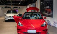 """Atsigaunančioje Kinijos rinkoje – """"Tesla"""" populiarumo šuolis"""