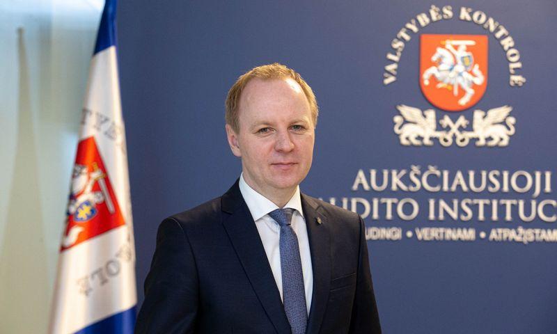 Mindaugas Macijauskas, valstybės kontrolieriaus pavaduotojas. Juditos Grigelytės (VŽ) nuotr.