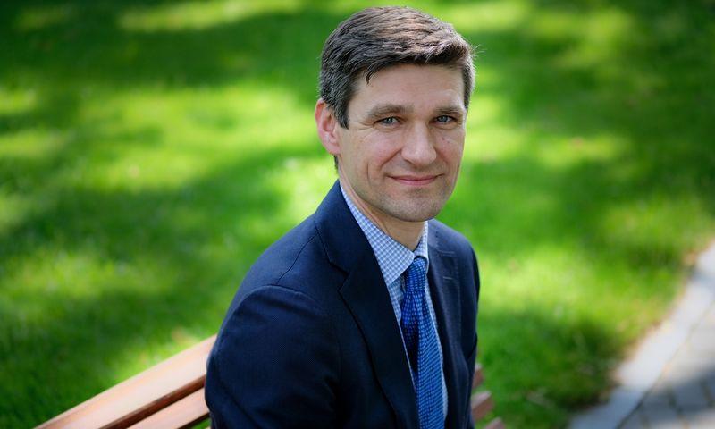 Simonas Krėpšta, prezidento patarėjas. Vladimiro Ivanovo (VŽ) nuotr.