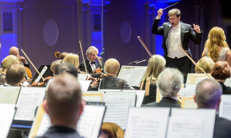 Lietuvos nacionalinis simfoninis orkestras. Dmitrijaus Matvejevo nuotr.