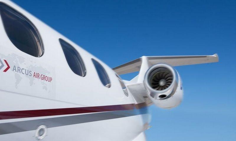 """Vokietijos """"Arcus Air Group"""" – dar vienas pastaraisiais metais sparčiai augusios ASG narys. Įmonės nuotr."""