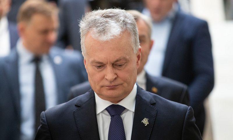 LR Prezidentas Gitanas Nausėda. Vladimiro Ivanovo (VŽ) nuotr.