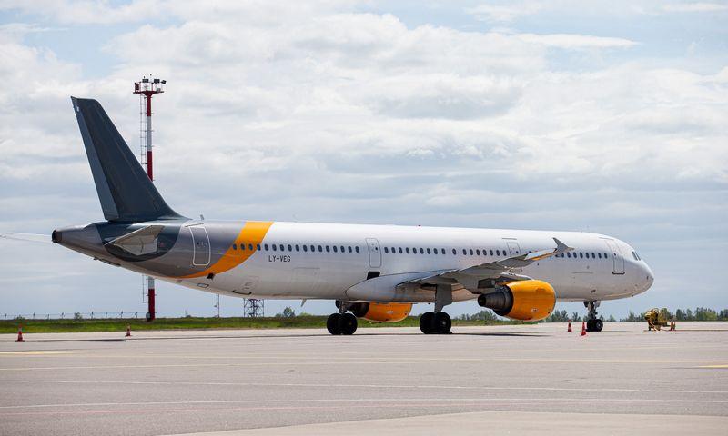 """""""Avion Express"""" lėktuvai bus įdarbinti vieninteliame šalies vidiniame maršrute. Juditos Grigelytės (VŽ) nuotr."""
