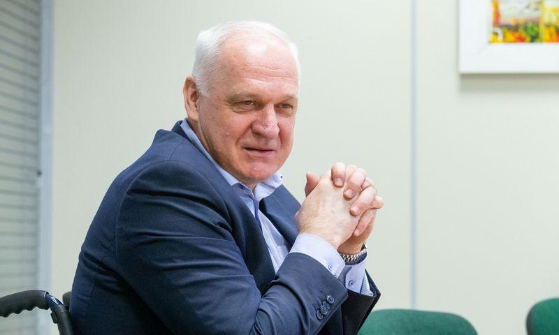 """Sigitas Žvirblis, UAB """"Intersurgical"""" generalinis direktorius. Juditos Grigelytės (VŽ) nuotr."""