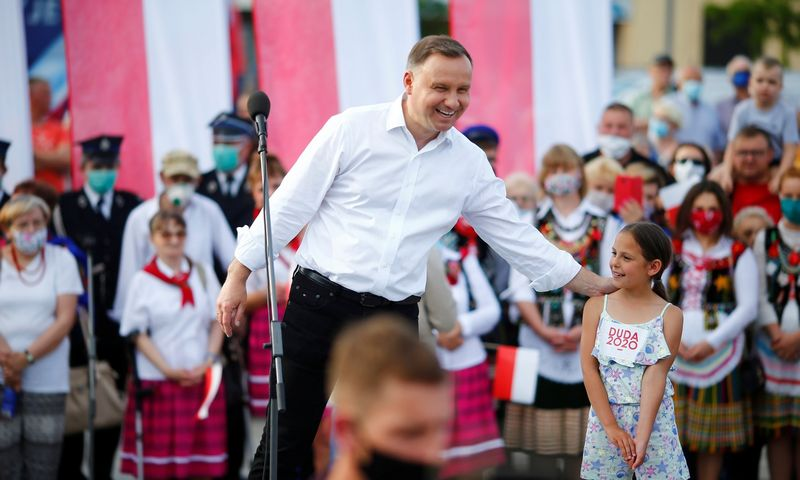 "Andrzejus Duda, Lenkijos prezidentas. Marcino Stepieno (""Reuters"" / ""Scanpix"") nuotr."