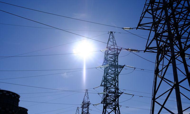 Aukštos įtampos elektros linija. Vladimiro Ivanovo (VŽ) nuotr.