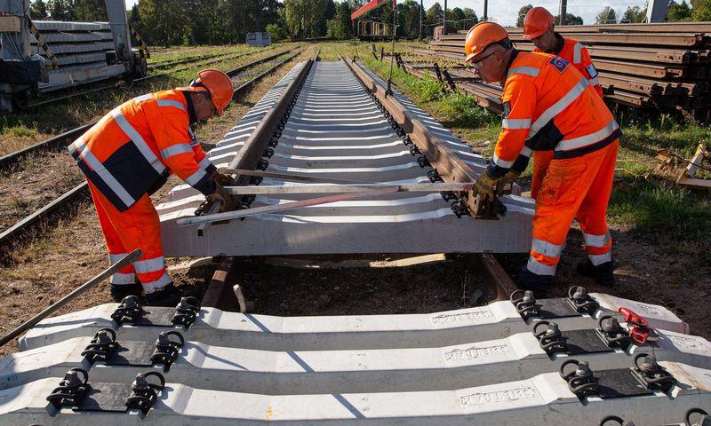 """""""Rail Baltica"""" įrengimo darbams skelbiami nauji konkursai. Vladimiro Ivanovo (VŽ) nuotr."""