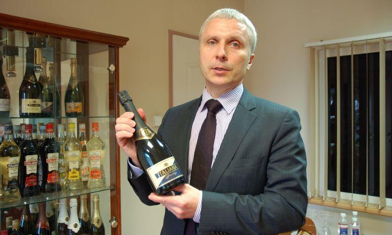 """Sigitas Zaikauskas, UAB """"Italiana LT"""" direktorius. Indrės Sesartės nuotr."""
