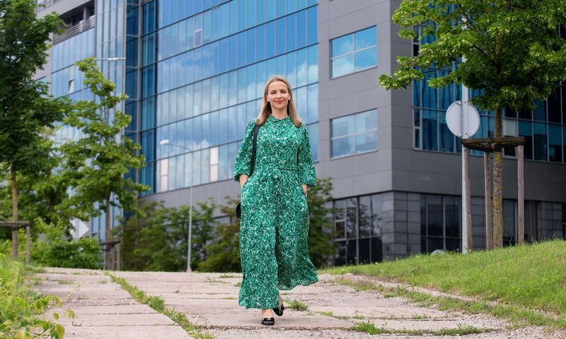 "Eglė Jackūnienė, bilietų platinimo UAB ""Kakava LT"" vadovė. Juditos Grigelytės (VŽ) nuotr."