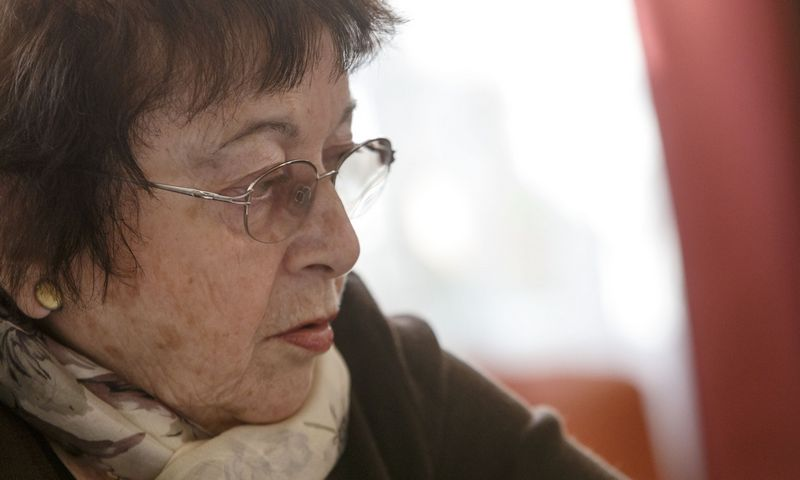 Prof. Irena Veisaitė, literatūrologė, teatrologė. Vladimiro Ivanovo (VŽ) nuotr.