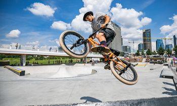 Vilniuje atidarytas Baltojo tilto sporto aikštynas