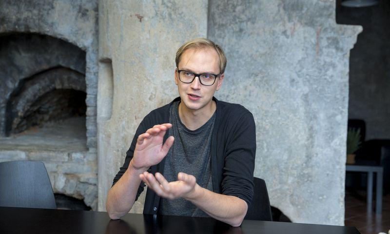 """Mantas Velykis, reklamos agentūros """"TRUTH."""" kūrybos vadovas. Vladimiro Ivanovo (VŽ) nuotr."""