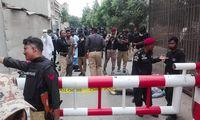 Per išpuolį Pakistano vertybinių popierių biržoje žuvo mažiausiai 6 žmonės