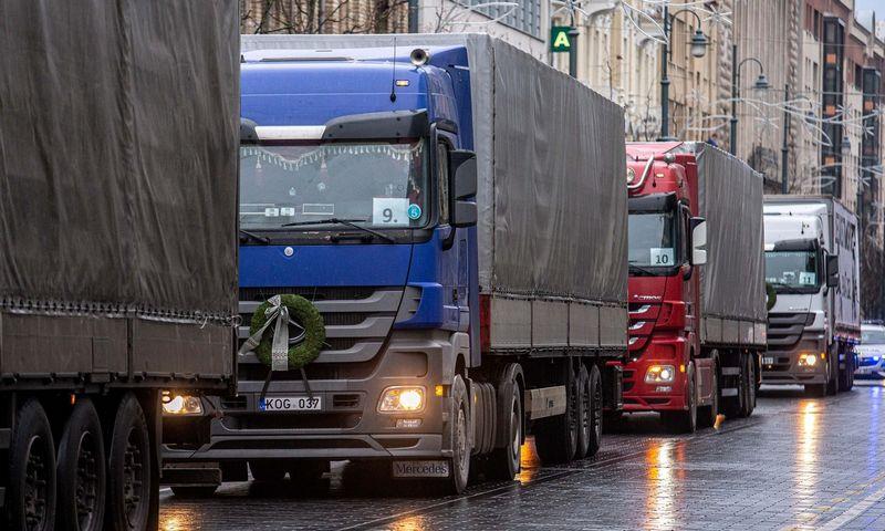 Mobilumo paketo nuostatos labai apsunkins Lietuvos vežėjų darbą Vakarų Europoje. Juditos Grigelytės (VŽ) nuotr.