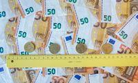 Centrinės valdžios deficitas – 1,17 mlrd. Eur