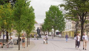 Išrinko geriausią Vilniaus Vokiečių gatvės atnaujinimo idėją