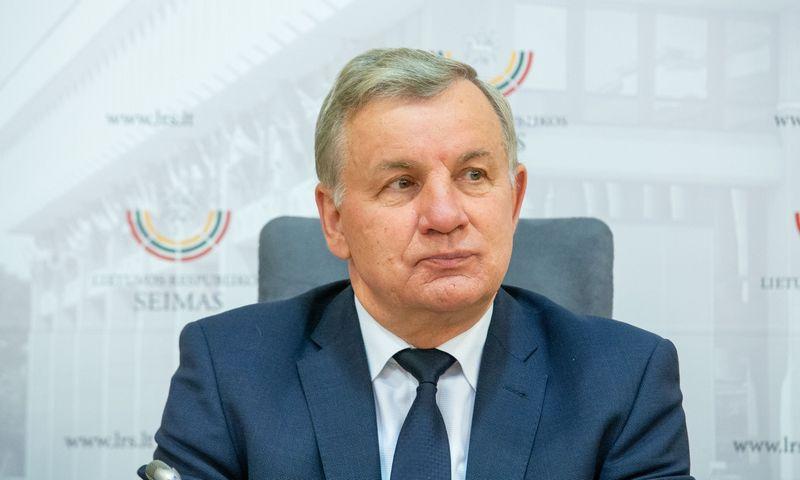 Rimantas Sinkevičius, naujasis ekonomikos ir inovacijų ministras. Juditos Grigelytės (VŽ) nuotr.