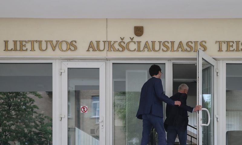 Lietuvos Aukščiausiasis Teismas. Vladimiro Ivanovo (VŽ) nuotr.