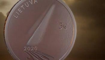 Lietuvos bankas išleidžia žmonių solidarumą pandemijos metu įamžinančias monetas