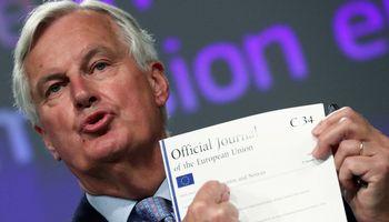 M. Barnier siūlo ruoštis dideliems pokyčiams Londono Sityje