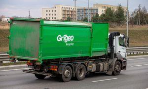 "Sustabdyta prekyba ""Grigeo"" akcijomis"