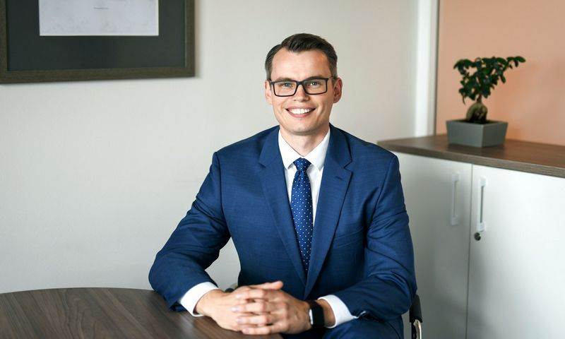 Ramūnas Dešukas, Šiaulių banko Probleminių aktyvų departamento direktorius. Ryčio Galadausko nuotr.