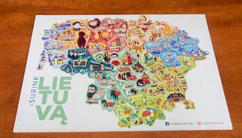 Magnetinis Lietuvos žemėlapis laukia antrosios sėkmės bangos