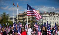 Vilniuje minima JAV Nepriklausomybės diena