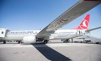 """Į orą Europoje sparčiausiai grįžta """"Turkish Airlines"""""""
