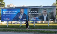 Kroatijoje vyksta parlamento rinkimai