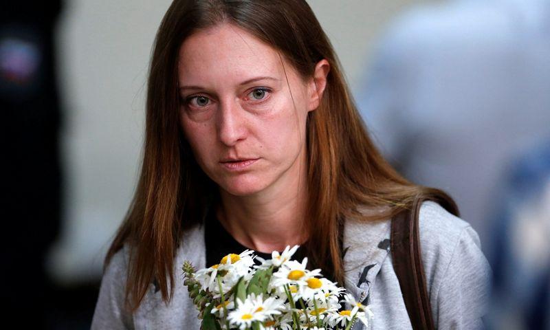 """Svetlana Prokopyeva. Anton Vaganov (""""Reuters""""/""""Scanpix"""") nuotr."""