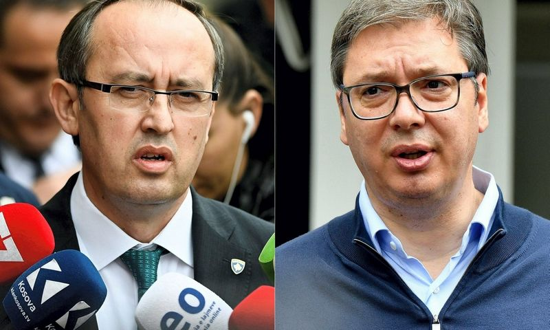 "Armend Nimani ir Andrej Isakovič (AFP/""Scanpix"") nuotr."