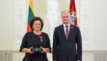 Nusipelniusiems savo šaliai – valstybiniai apdovanojimai