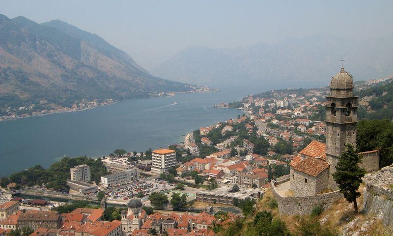 Juodkalnija.Senovinis miestas Kotoras prie Adrijos jūros. Kosto Baubino nuotr.