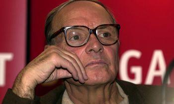 Mirė kino muzikos grandas Ennio Morricone