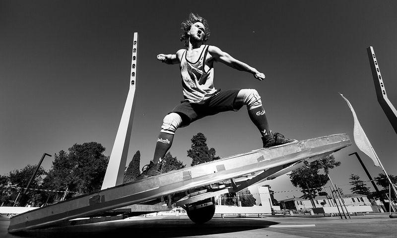 Balansuojantis žmogus: Vilnius | Don Gnu (Danija ir Lietuva. Festivalio rengėjų nuotr.
