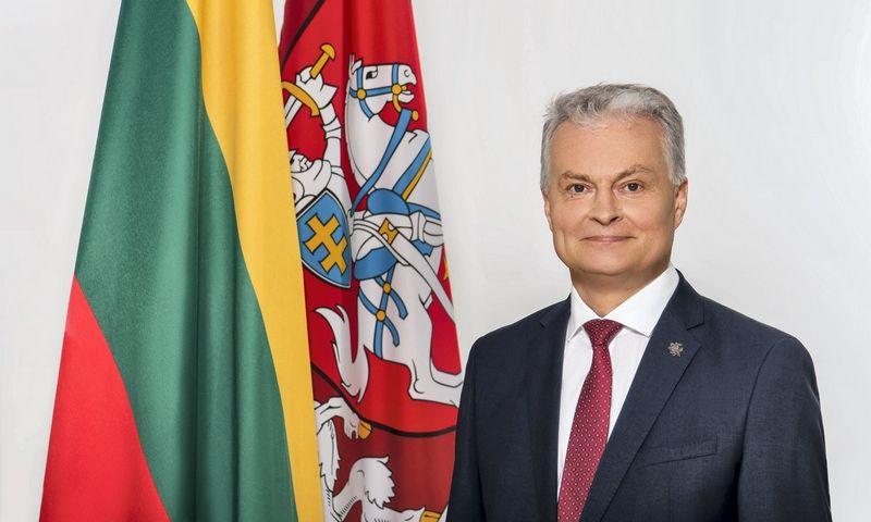 Lietuvos Respublikos Prezidentas Gitanas Nausėda. Prezidentūros nuotr.