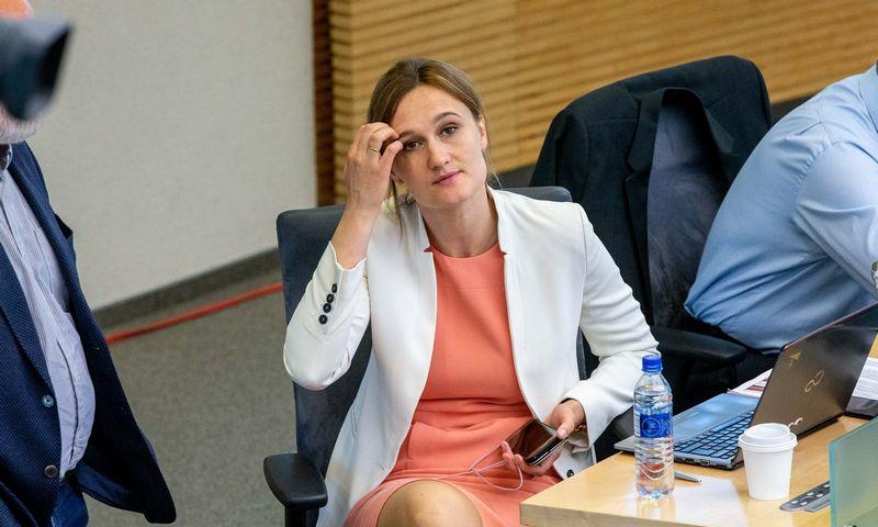 ?Liberalų sąjūdžio vadovė Viktorija Čmilytė-Nielsen. Juditos Grigelytės (VŽ) nuotr.
