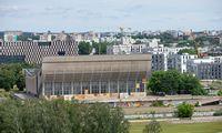 Koncertų ir sporto rūmų aplinkai tvarkyti – 3,4 mln. Eur