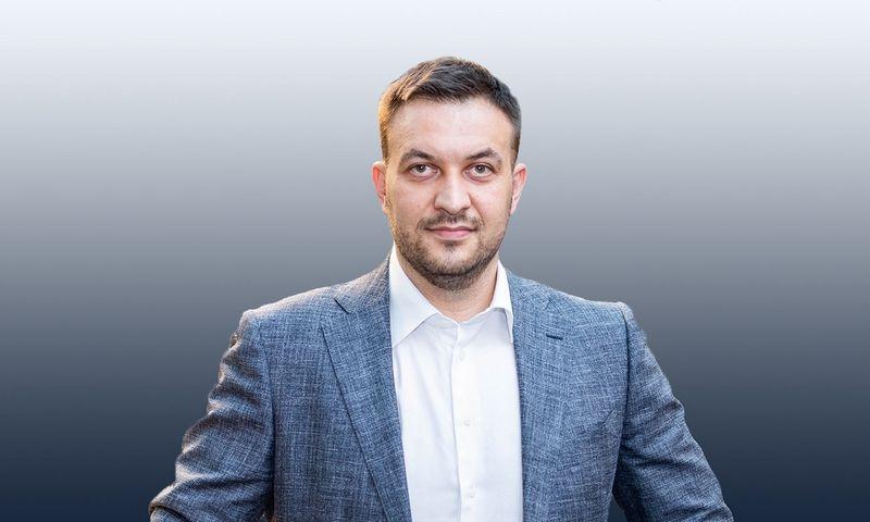 """Jurgis Adomavičius, """"Transporto Inovacijų asociacijos"""" iniciatorius."""