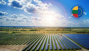 """Solet Technics"" stato saulės parką su lietuviškais fotomoduliais"